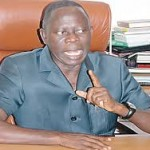 Oshiomhole-Must-Go Protesters Storm ICPC Office, Ask Anti-Graft Agency To Probe APC Chairman