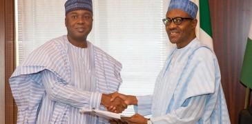 saraki meets Buhari