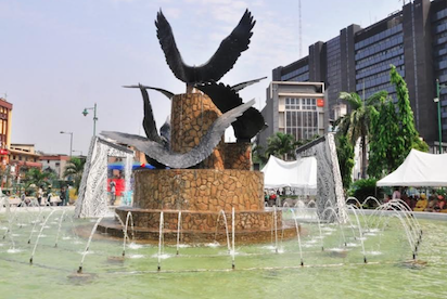 Newly upgraded tinubu square