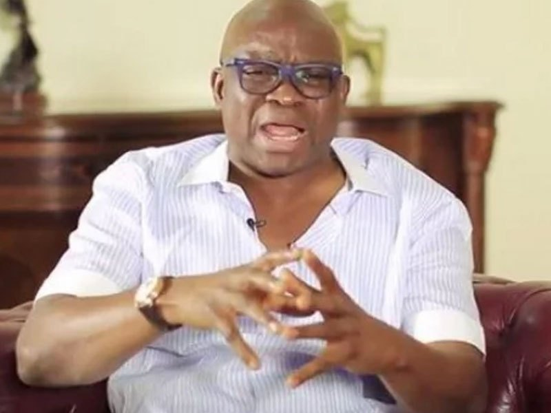 Fayose speaks