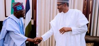 2019: Buhari Meets Tinubu Behind Closed Doors In London