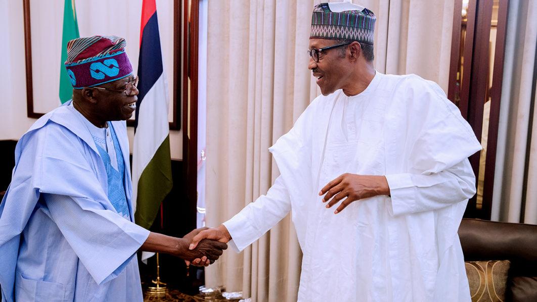 Buhari meets Tinubu