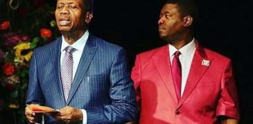 Pastor Adeboye And Son, Leke