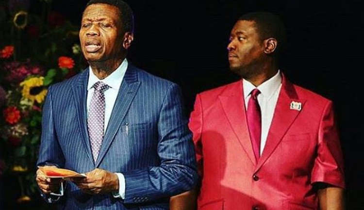 Pastor Adeboye And Son, Leke