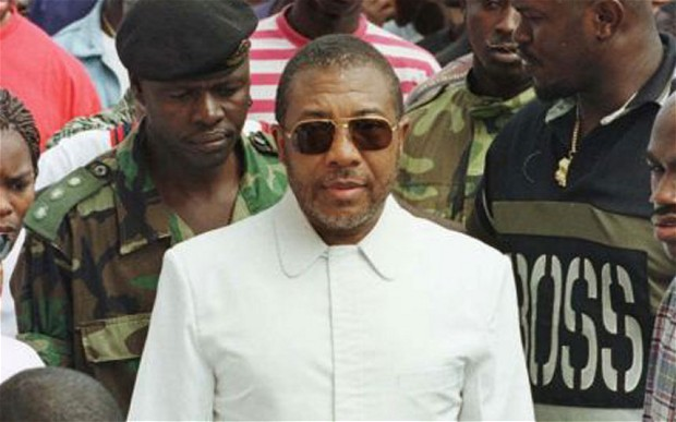Charles Taylor, a former Liberian President