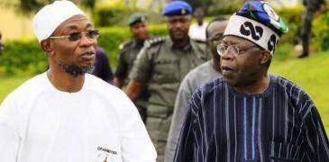 Osun State Governor Rauf Aregbesola And Asiwaju Bola Tinubu