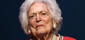 Ex- US First Lady Barbara Bush Dies At 92