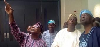 2019: Falae Meets With Obasanjo In Abeokuta, Says Buhari Has Failed