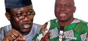 Fayemi Tackles Fayose For Not Declaring IGR In Four Years