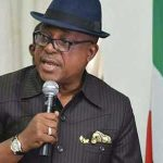 The National Chairman of the PDP, Chief Uche Secondus