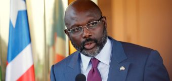 Liberian President, George Weah Plays In Friendly Against Eagles