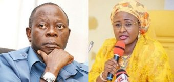 Impunity Reigns Under Your Watch, Aisha Buhari Tackles APC Chair, Oshiomhole