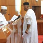 Saraki ,Akpabio Clashed In Senate Over Sitting Arrangement